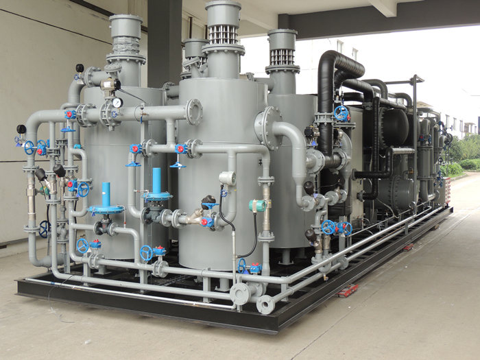 Hydrogen Recovery System for Annealing Furnaces